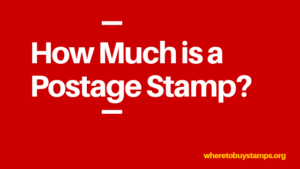 what is the price of a us stamp